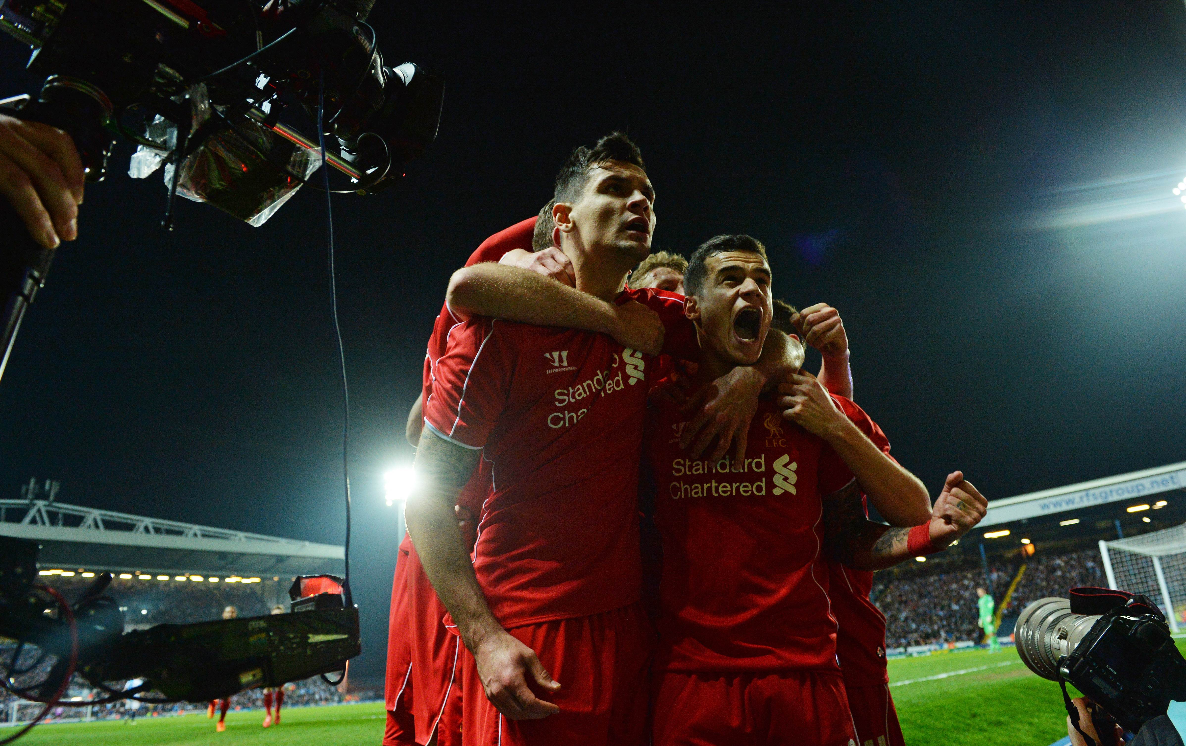 7f8cde6f33c2 Coutinho strike just enough to send Liverpool into FA Cup semis ...