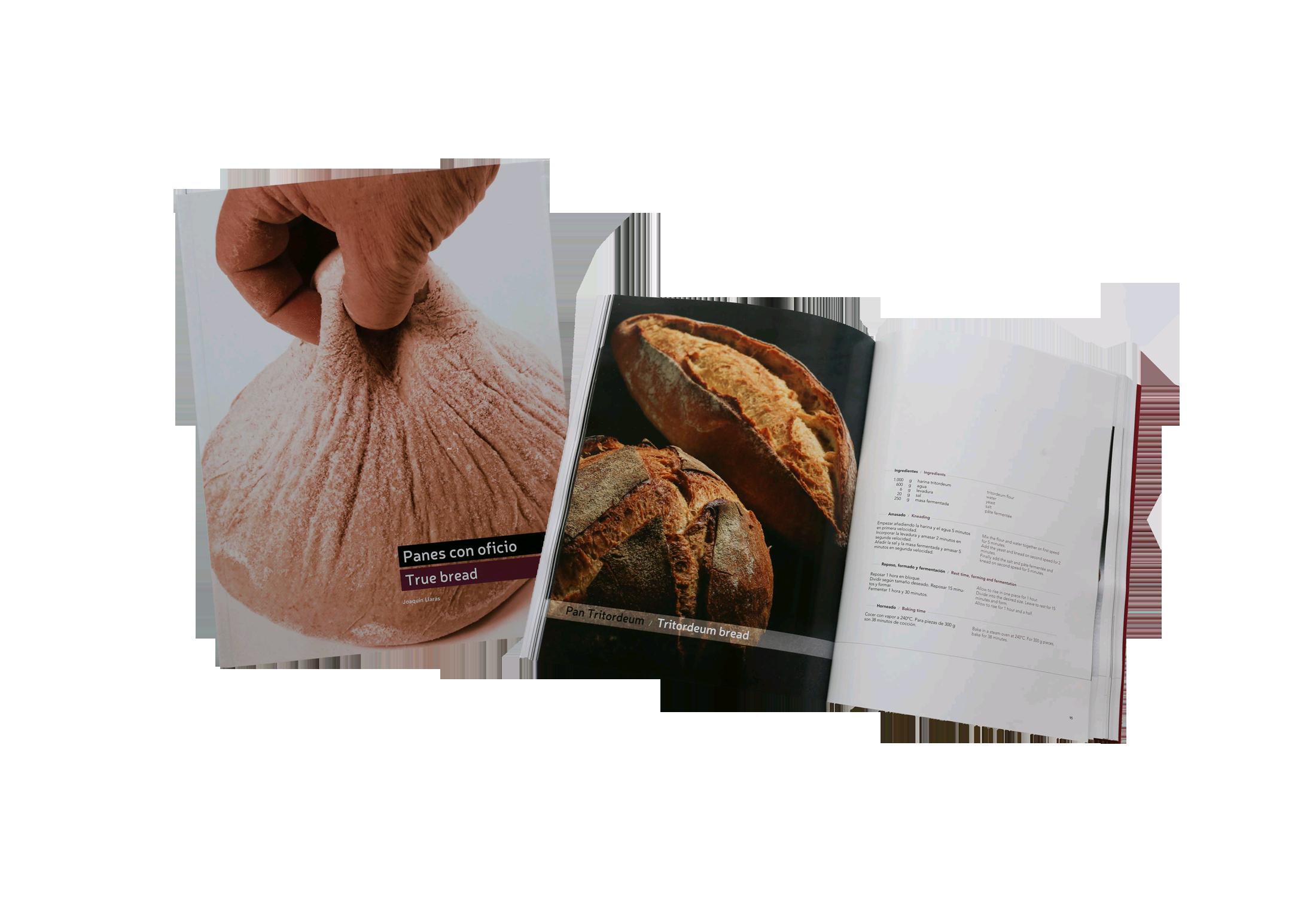 Food book: Panes con Oficio - bread recipes from Spain