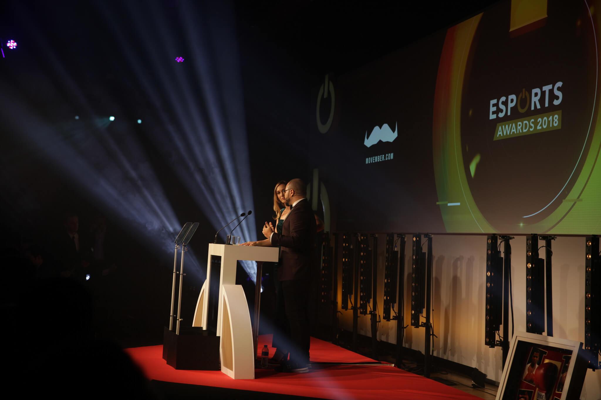 Overwatch, Fortnite and Ninja win big at the Esports Awards 2018