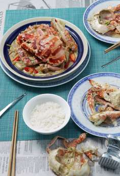 Susan Jung's recipes for Bicol express and for crabs in