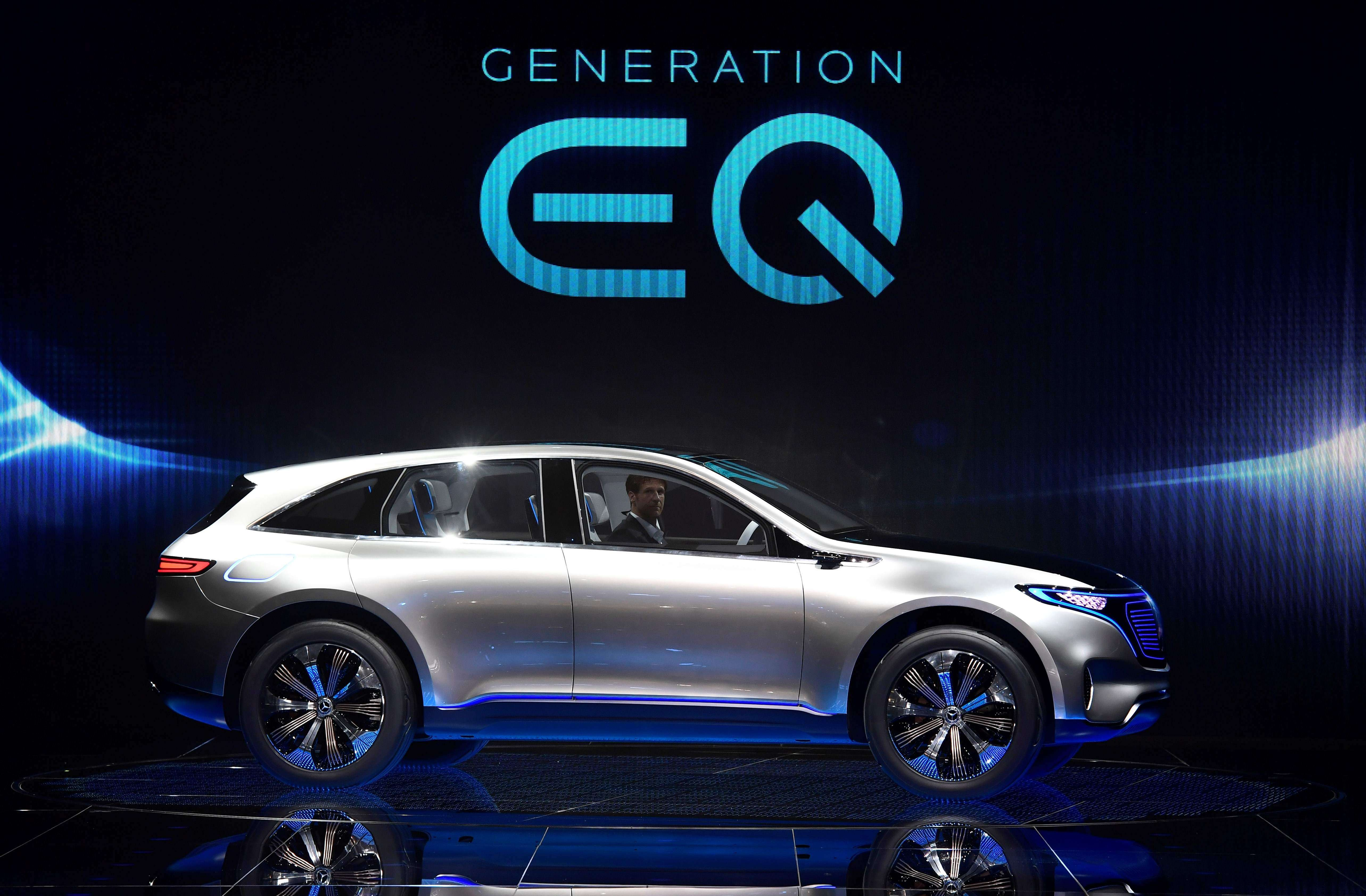 Mercedes' 'Tesla killer' electric SUV coming in 2019