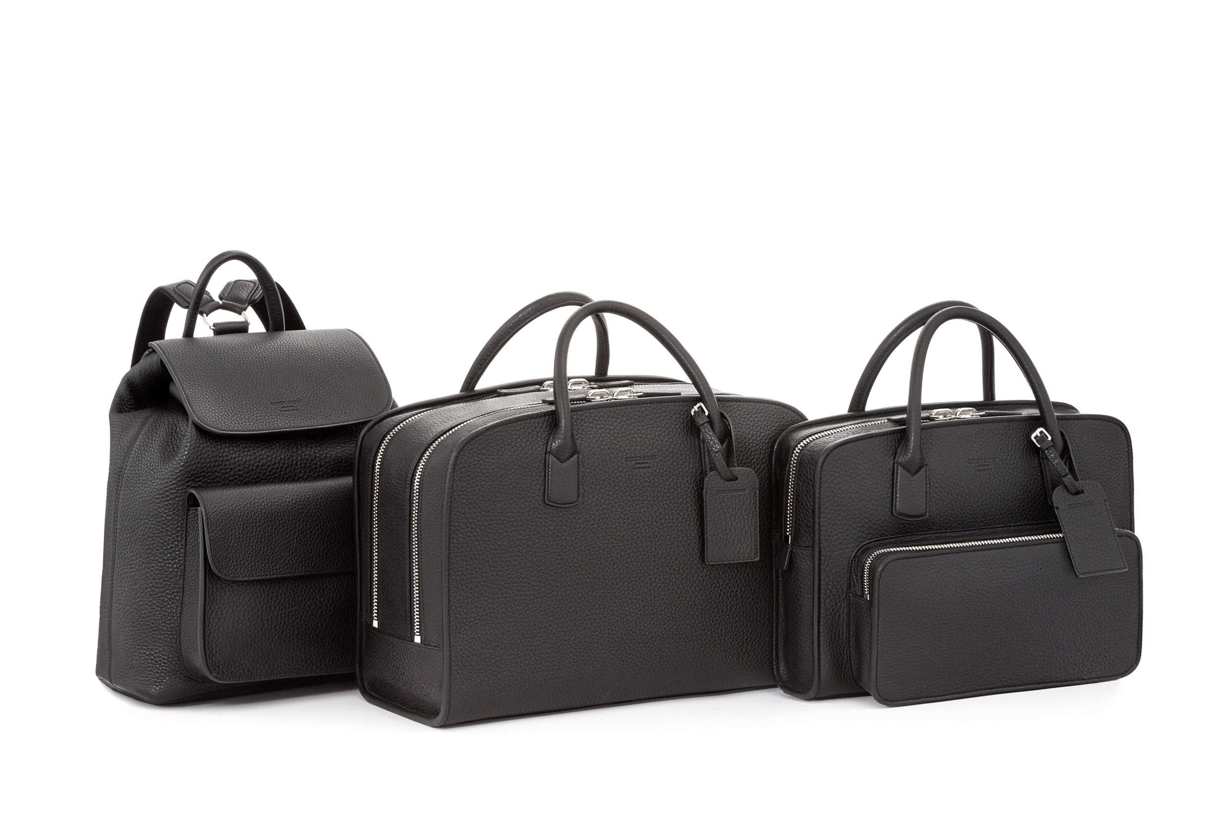 Giorgio Armani adds travel bag and backpack to its Private
