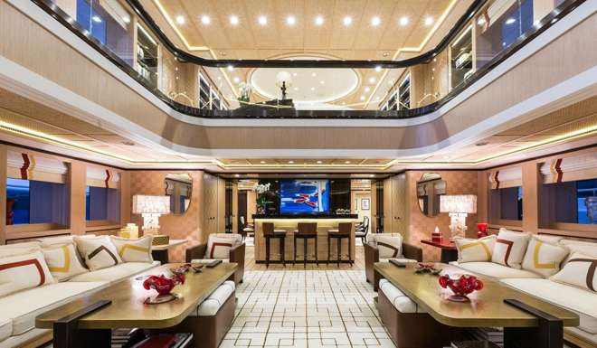 Its The Largest Yacht Ever Built In Turkey And Comes With Six Cabins Four Decks