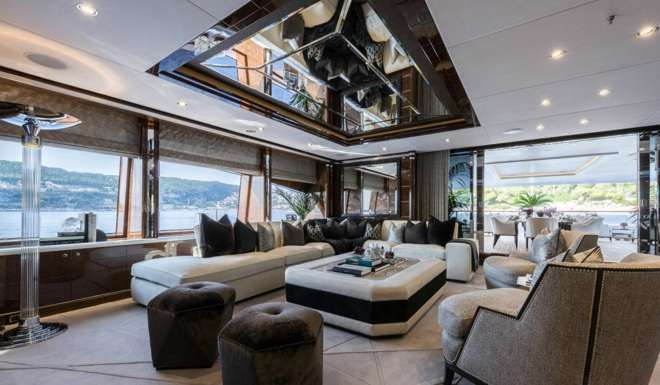 Altogether The Yacht Features Two Jacuzzi Pools A Room With Massage Bed And Heated Towel Cabinet Steam
