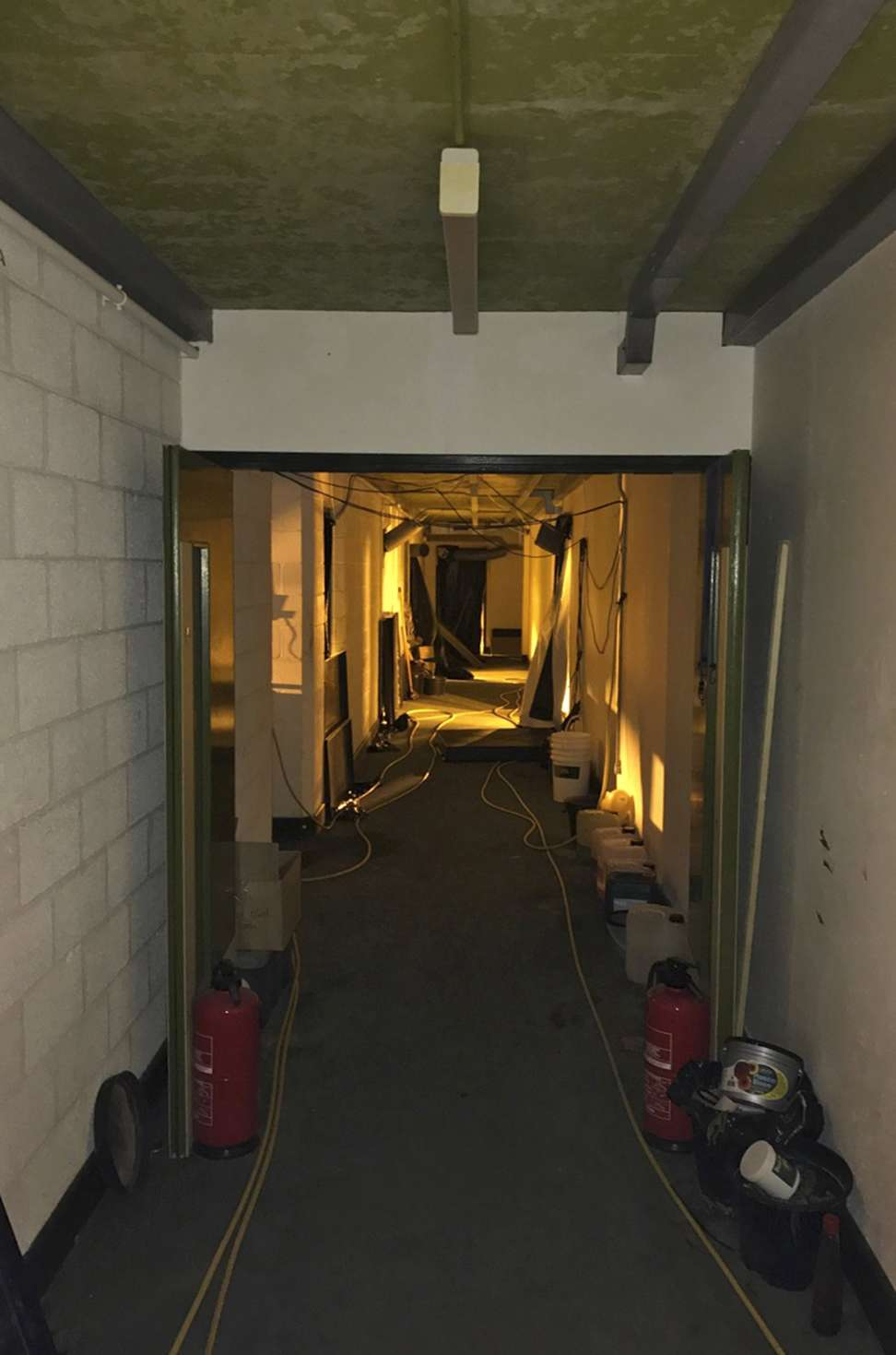 Huge cannabis farm in uk nuclear bunker was staffed by trafficked a view down a corridor to a cannabis plantation which was discovered in an underground nuclear bunker near swindon wiltshire britain photo epa sciox Choice Image