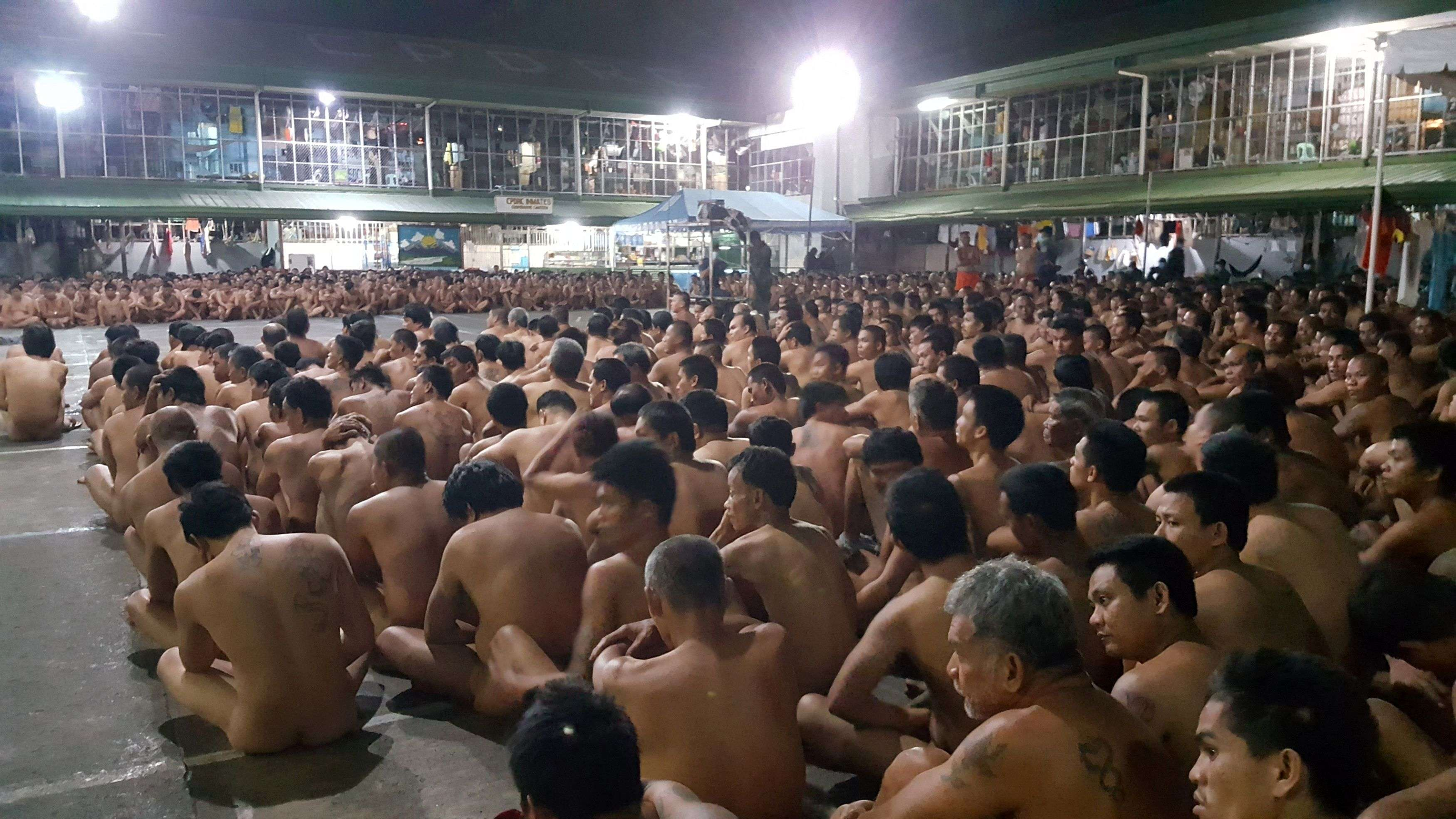 Cruel Inhumane And Degrading Mass Strip Search At Philippine