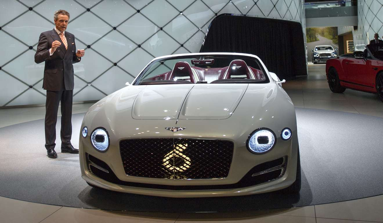 bentley's first-ever, electric concept car is a luxury fever dream