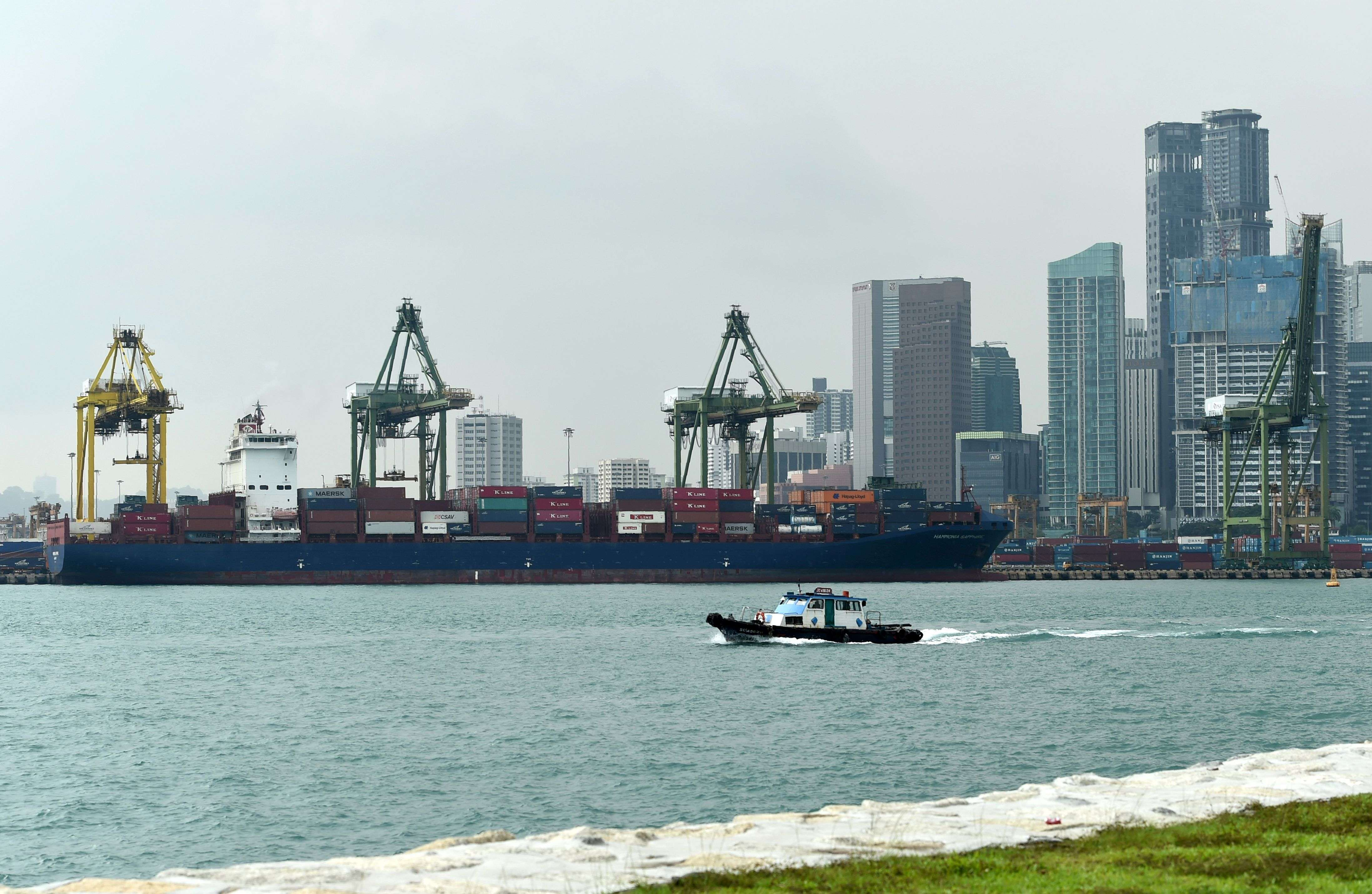 How infrastructure spending and maritime services can help