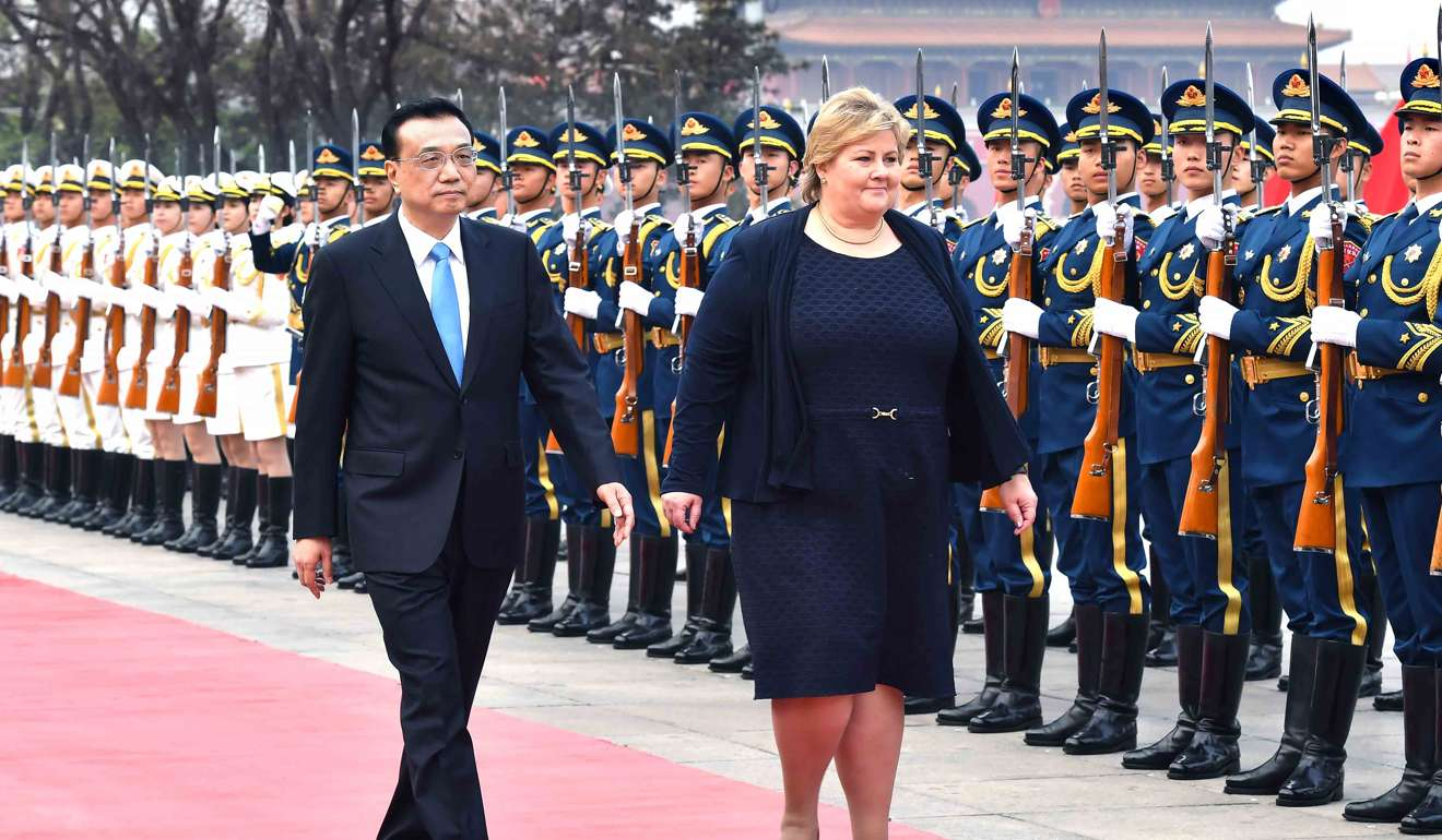china and norway resume trade talks  ending six
