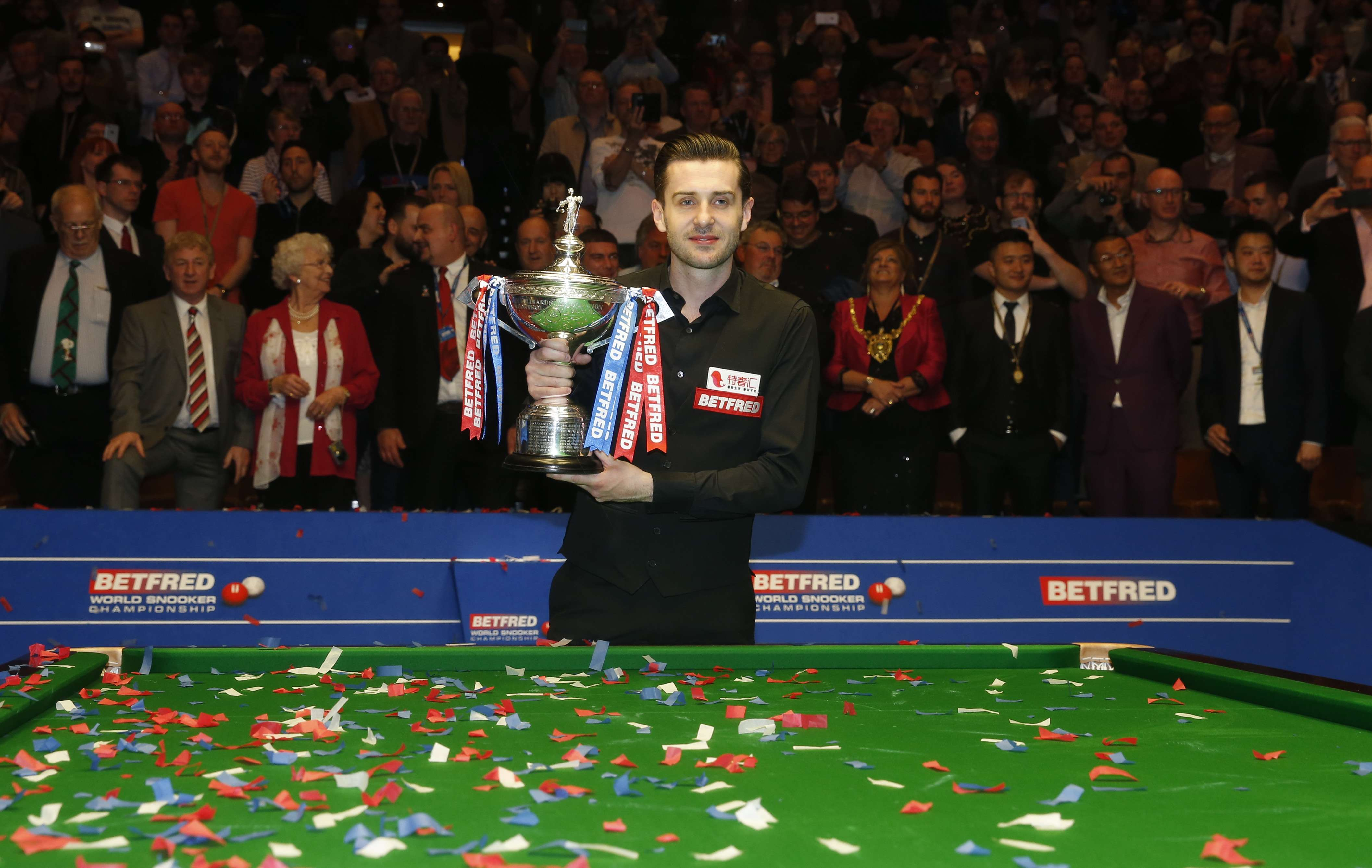 Mark Selby joins snooker elite in retaining his world title with ...