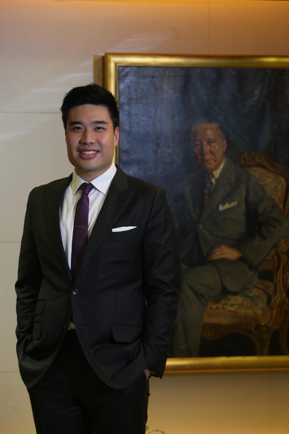 Richie Eu Zai Qi, managing director and fifth-generation owner of Eu Yan Sang. Photo: David Wong