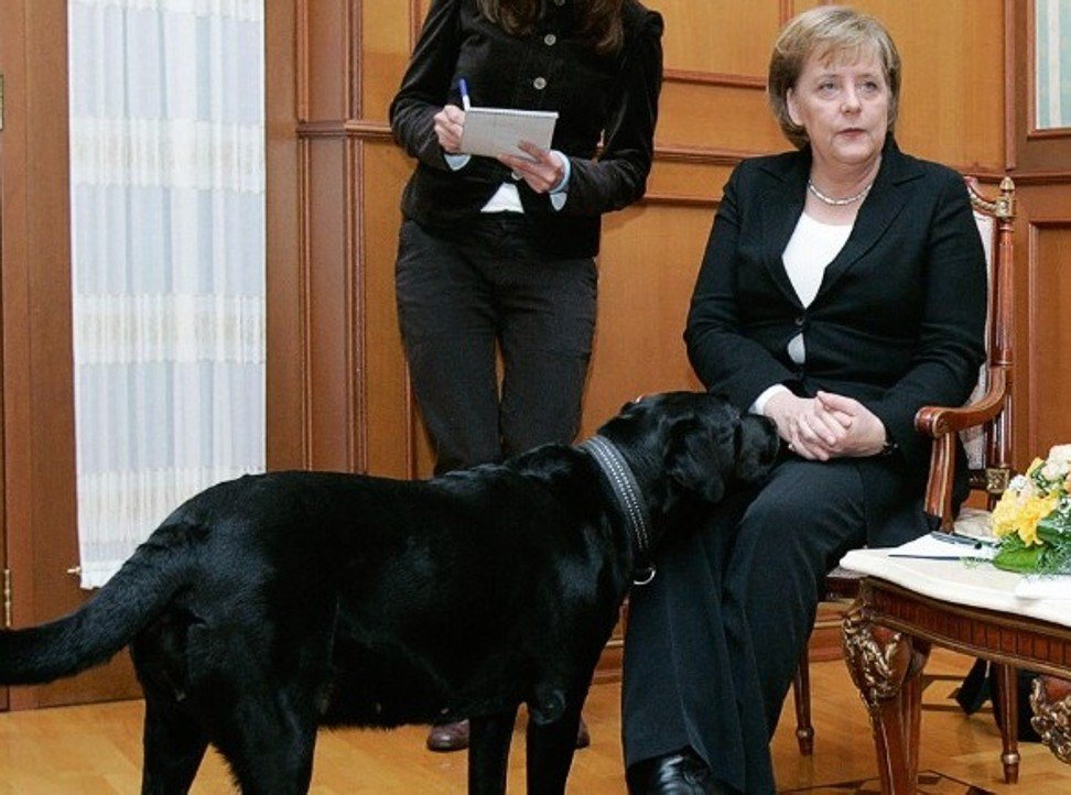 That Time Putin Terrified Merkel With His Dog And Other Reasons