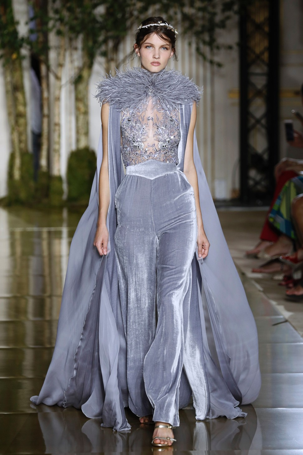 4bc5d282a06 Grey dominates Zuhair Murad and Valentino shows as Paris haute ...