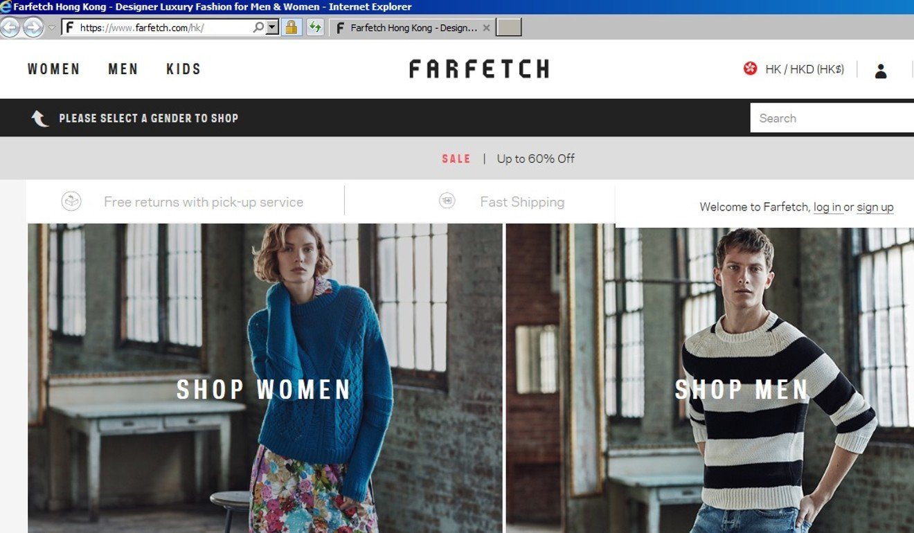 cf075eb293ec Farfetch boss hails US$397m tie- up with JD.com, says partnership will  speed up luxury fashion portal's growth in China | South China Morning Post
