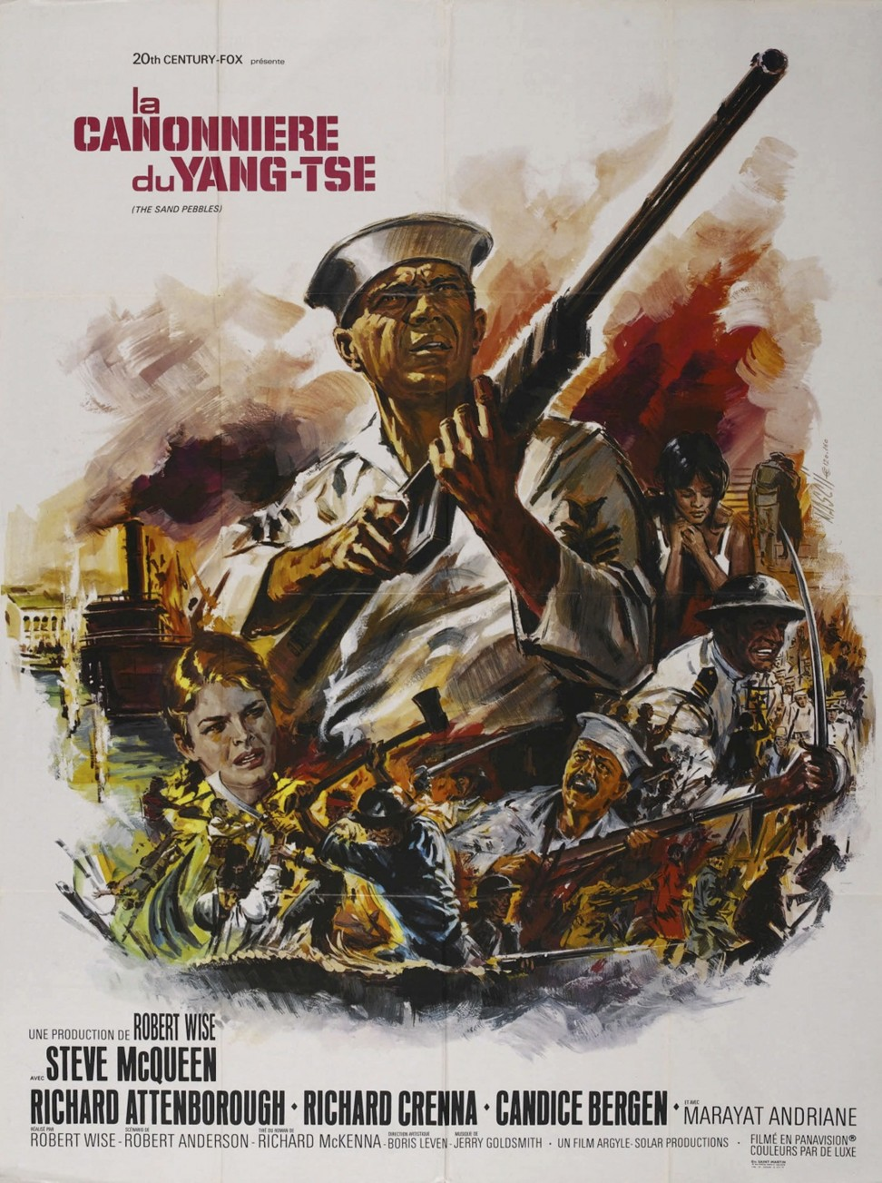 the flag in the movie sand pebbles Buy the sand pebbles: read 579 movies & tv reviews - amazoncom   number of 'flag' images, and the missionary's statement late in the film, it's too  late in.