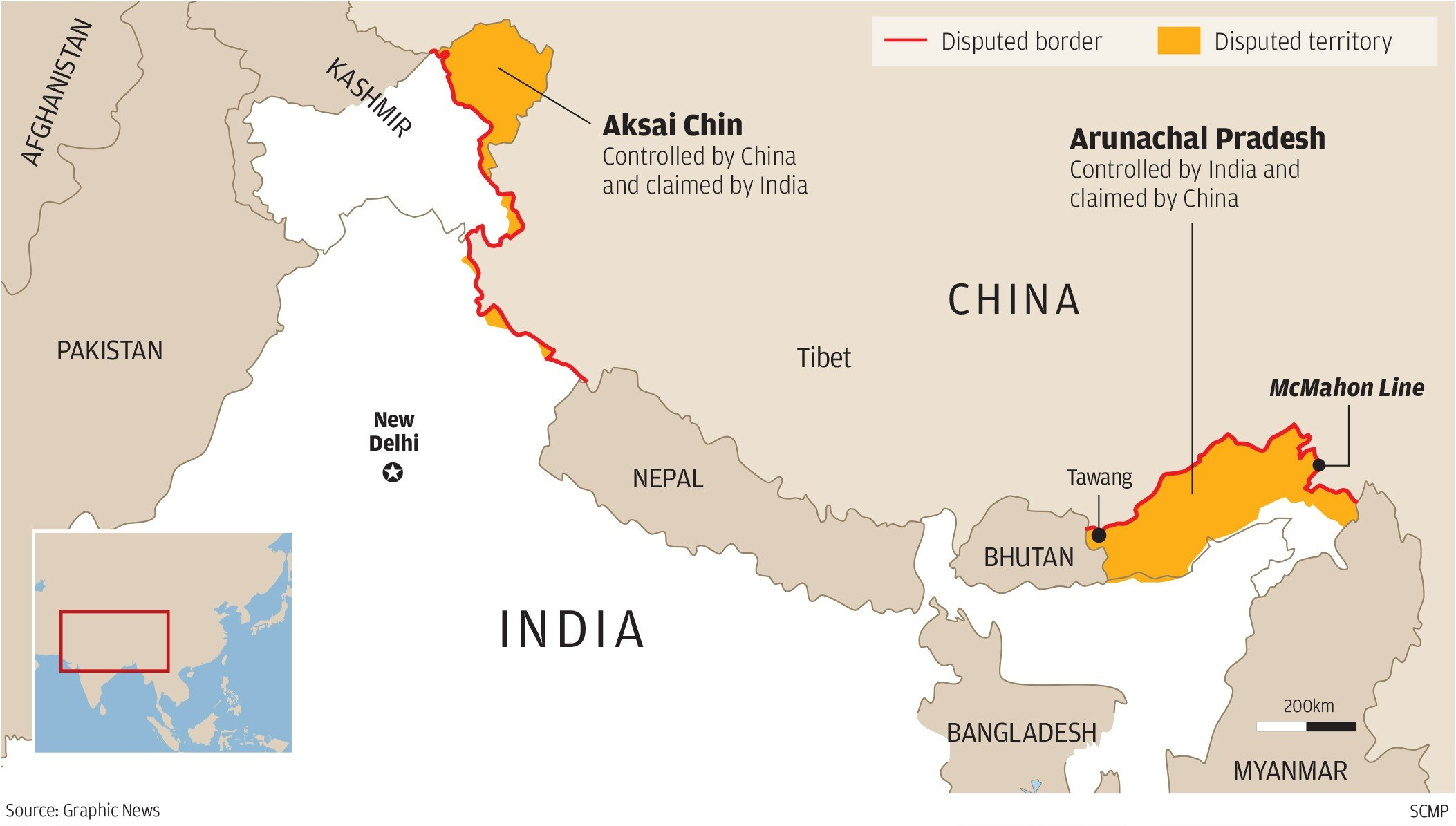 india china conflict While everyone's anxiously watching and analyzing the events unraveling in the  south china sea, there's another resource conflict involving.