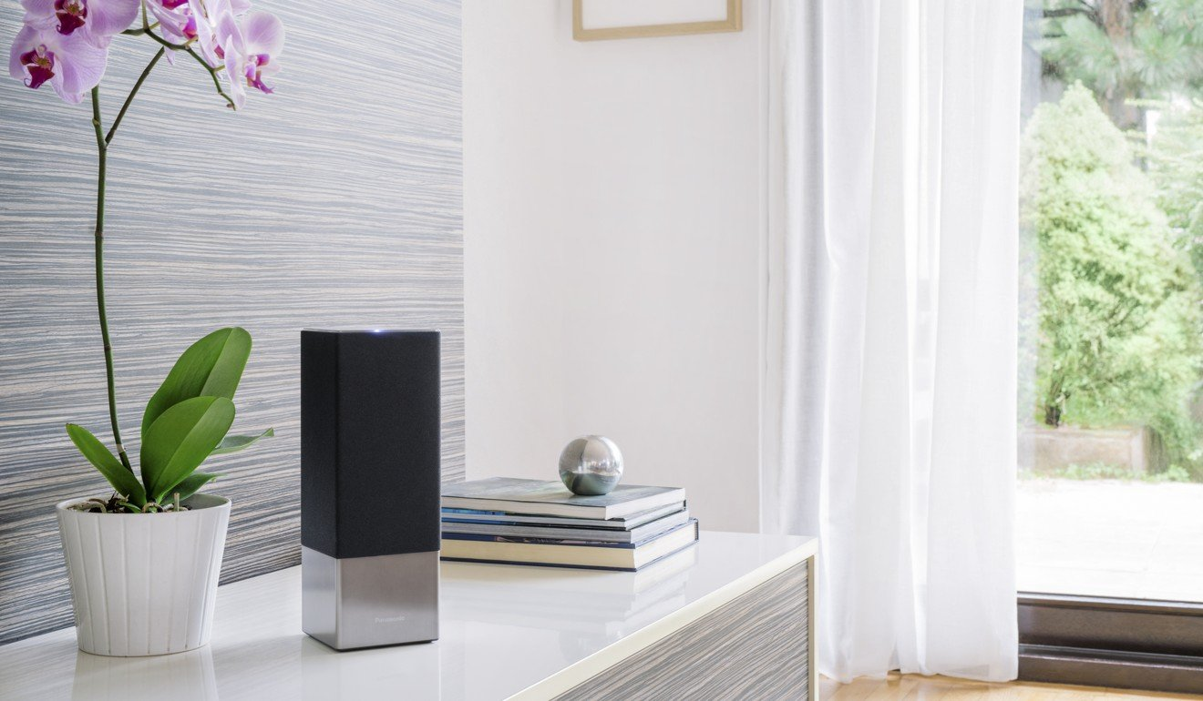 Panasonic's SC-GA10 smart speaker. Photo: Panasonic