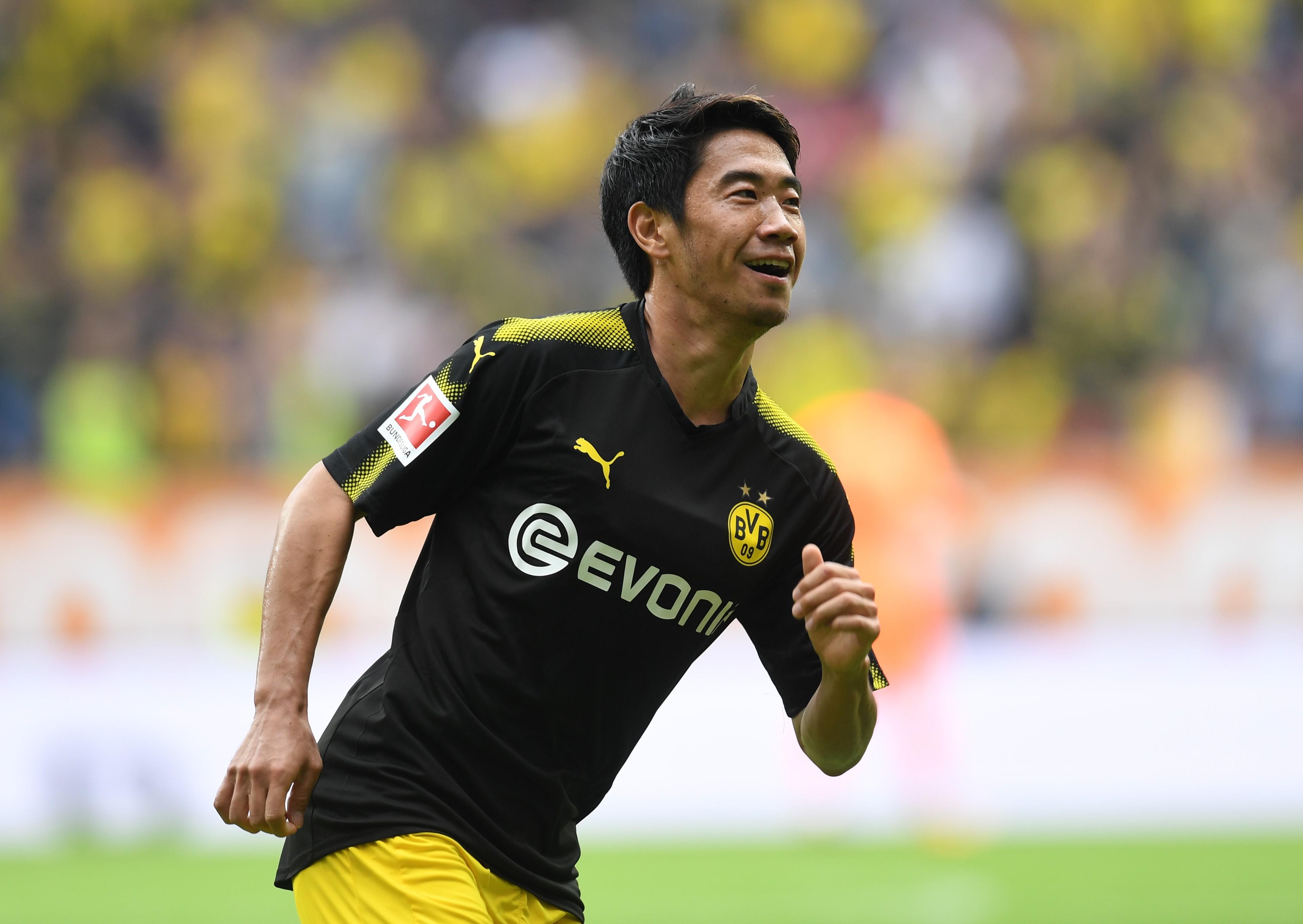 Shinji Kagawa s 38th goal sets Bundesliga record for highest