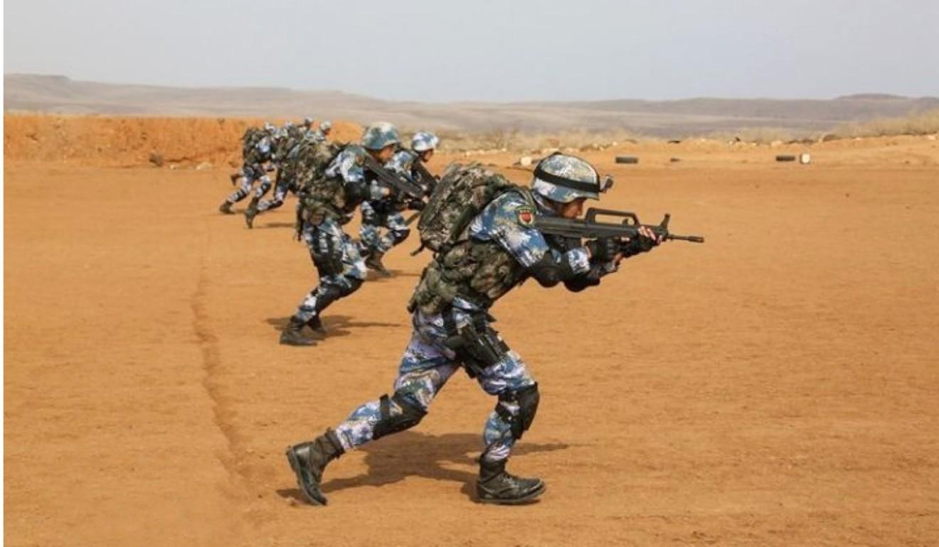 China S Djibouti Military Base Logistics Facility Or