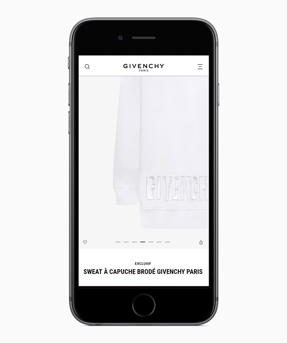 fd2d1407c44c Givenchy launches e-commerce platform to mark Clare Waight Keller s first  collection
