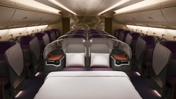 Inside Singapore Airlines\' new Airbus A380 luxury suites | South ...