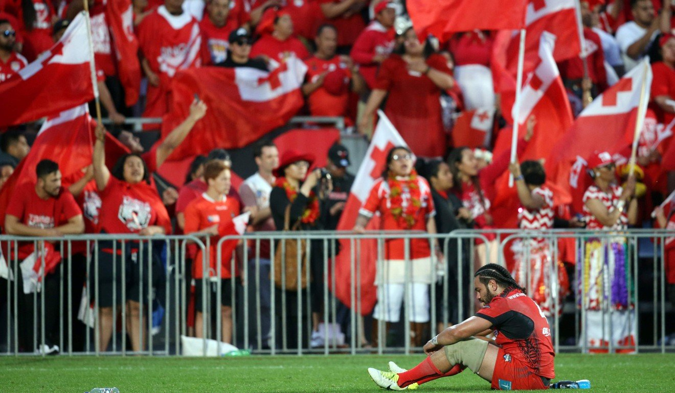 93f2c5744f8 Tonga denied in controversial finale as England hold out to reach Rugby  League World Cup final | South China Morning Post
