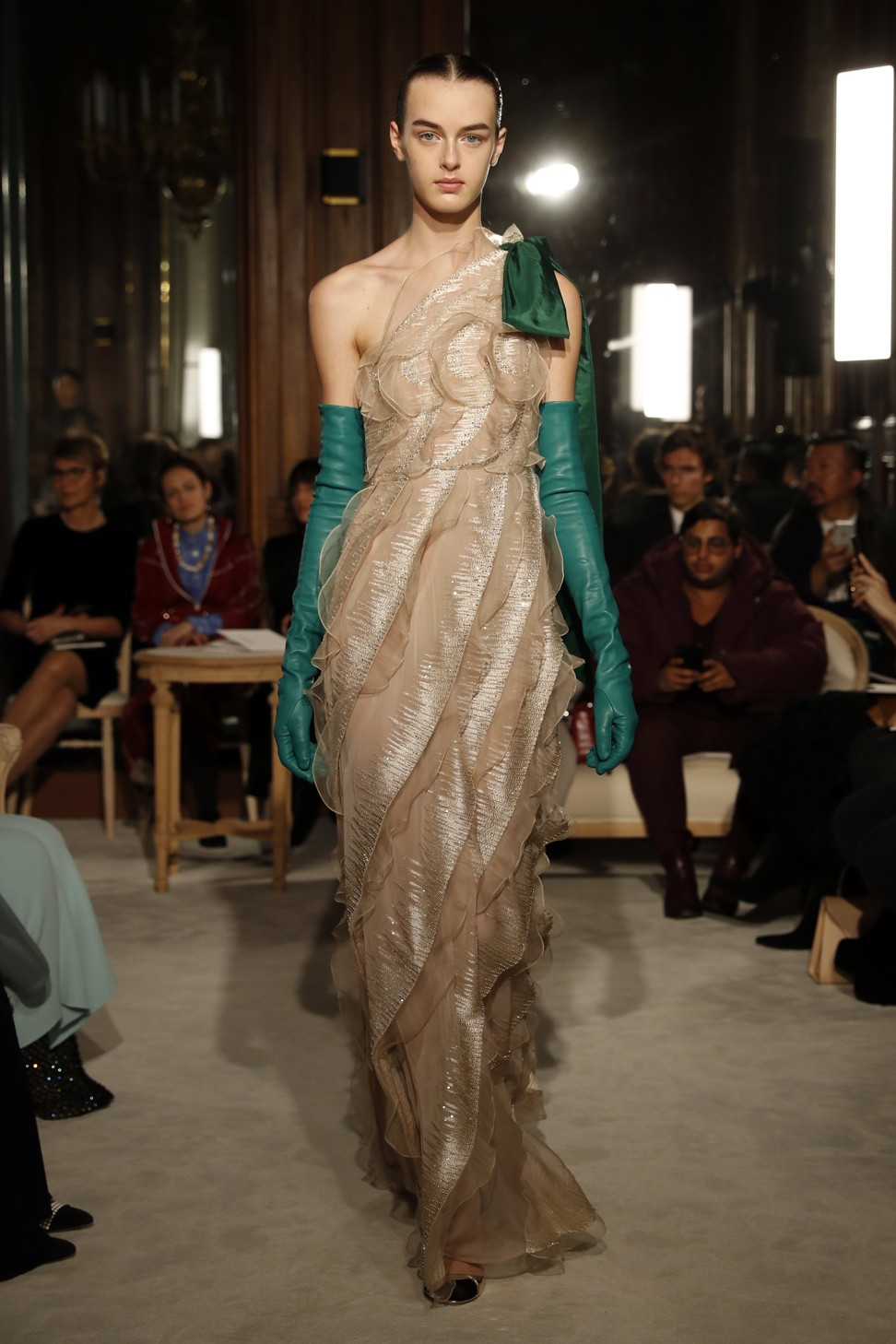 188791c842c543 Haute Couture Week  Valentino injects youthful energy into haute couture  with a pop of colours
