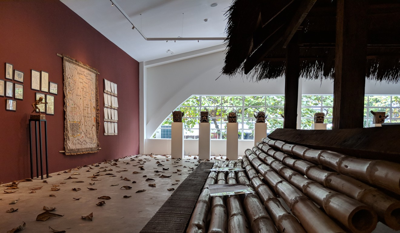 Bellas Artes is currently displaying an exhibit by Filipino artist Cian Dayrit that highlights the history and mythology of the Ayta Magbukun community of Bataan. Photo: Ong Kar Jin