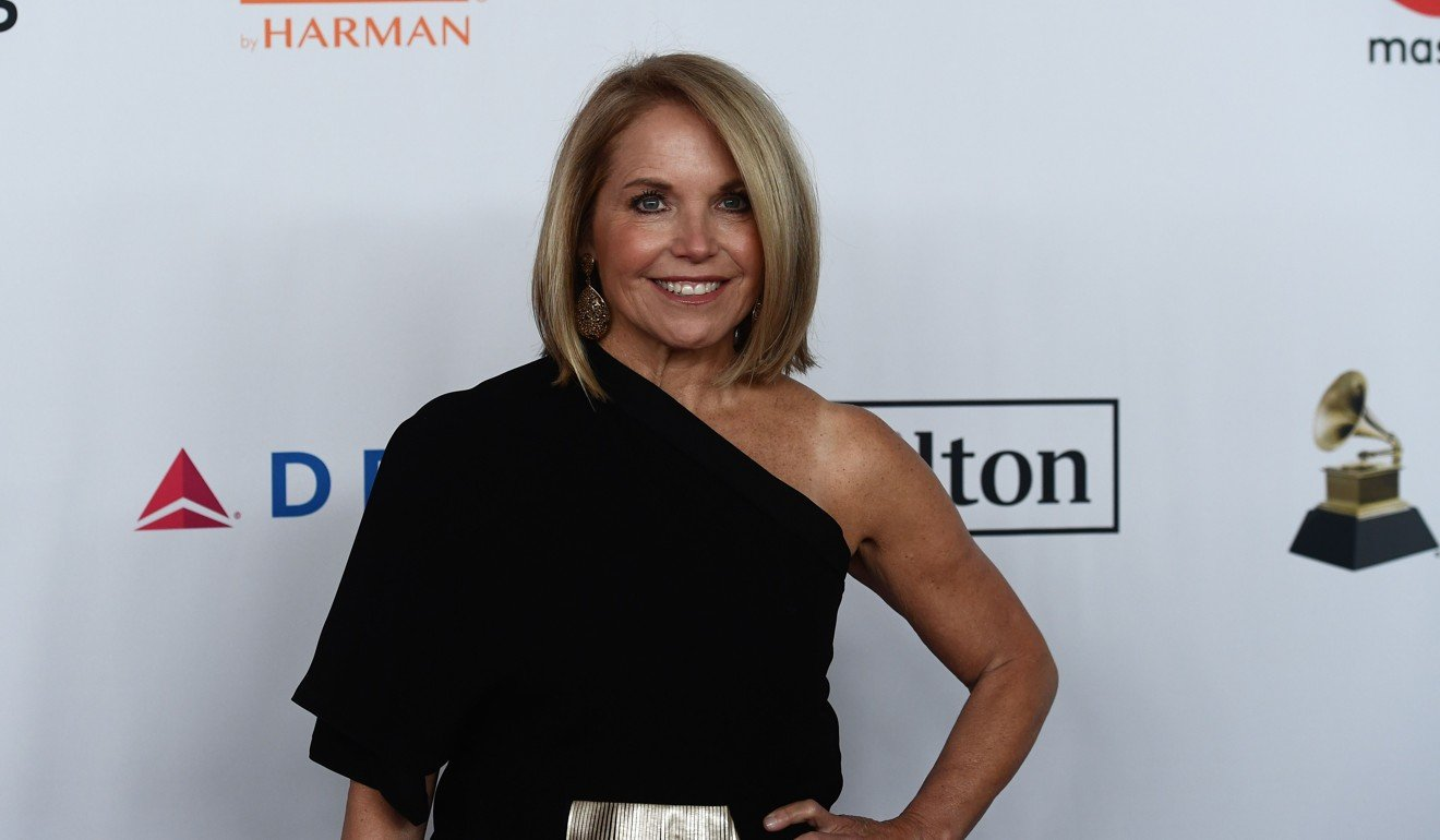 American Journalist And Author Katie Couric