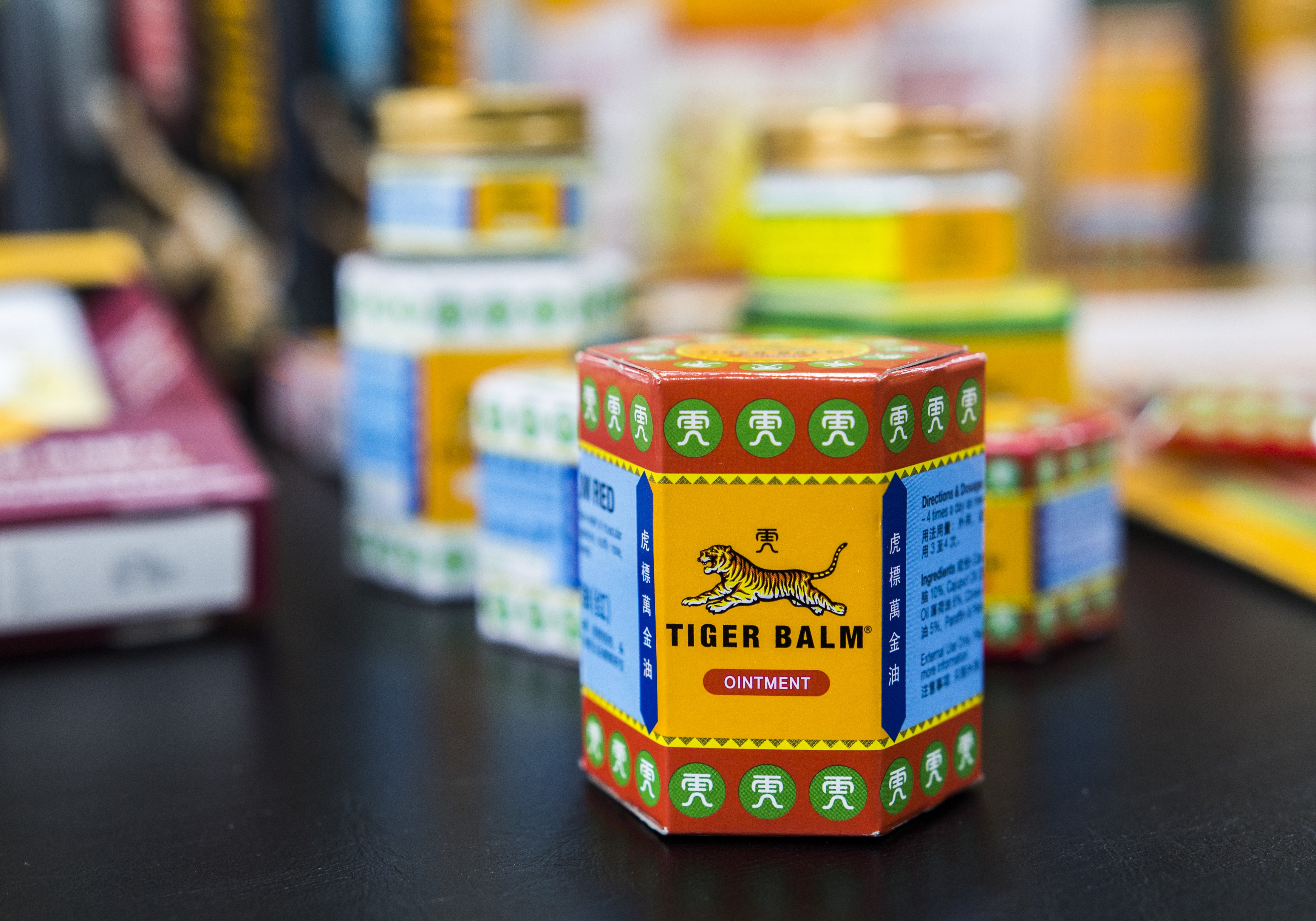 Asian medicine and treatment - tiger balm