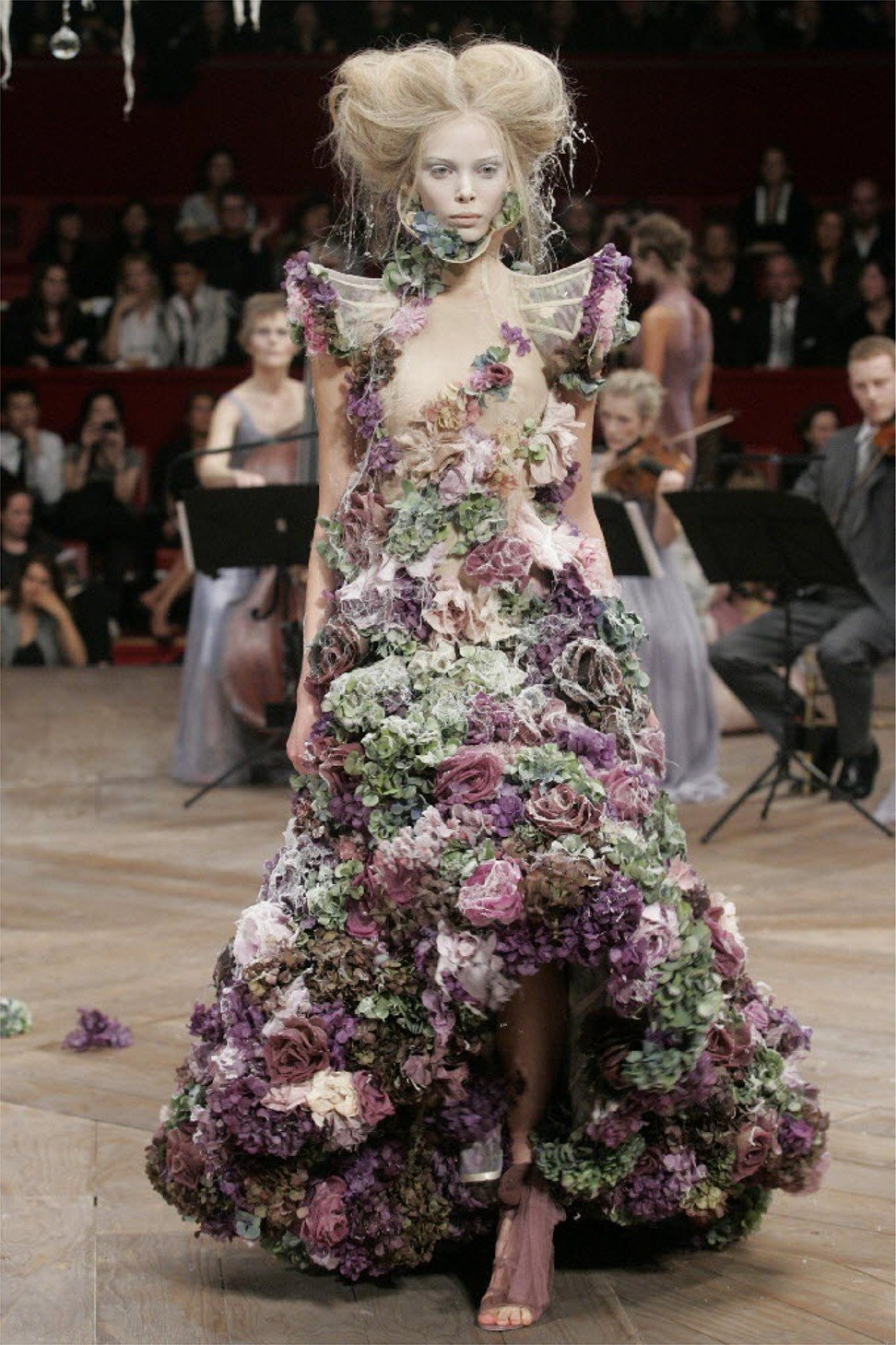 Five times Alexander McQueen made history in fashion ...