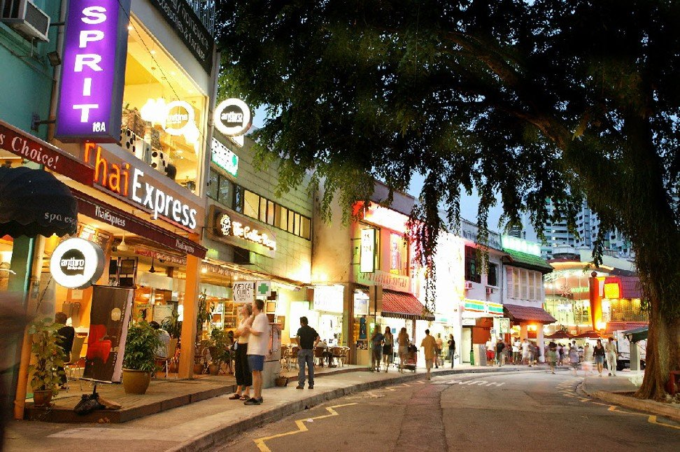 Holland Village has a number of art galleries, art shops, novelty shops and pubs. Photo: Singapore Tourism Board