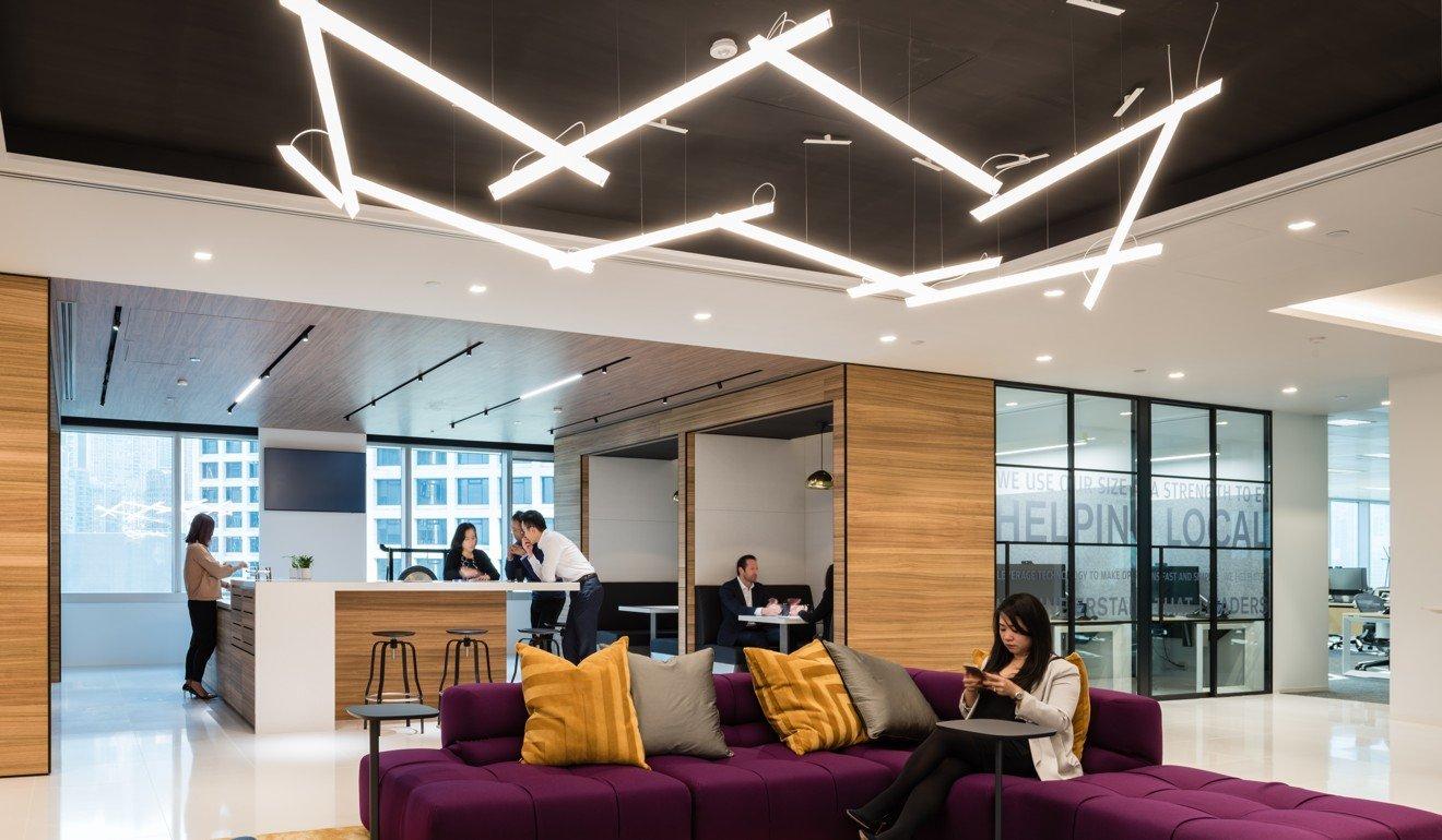 JP Morgan creates new open-floor storey in Hong Kong to improve