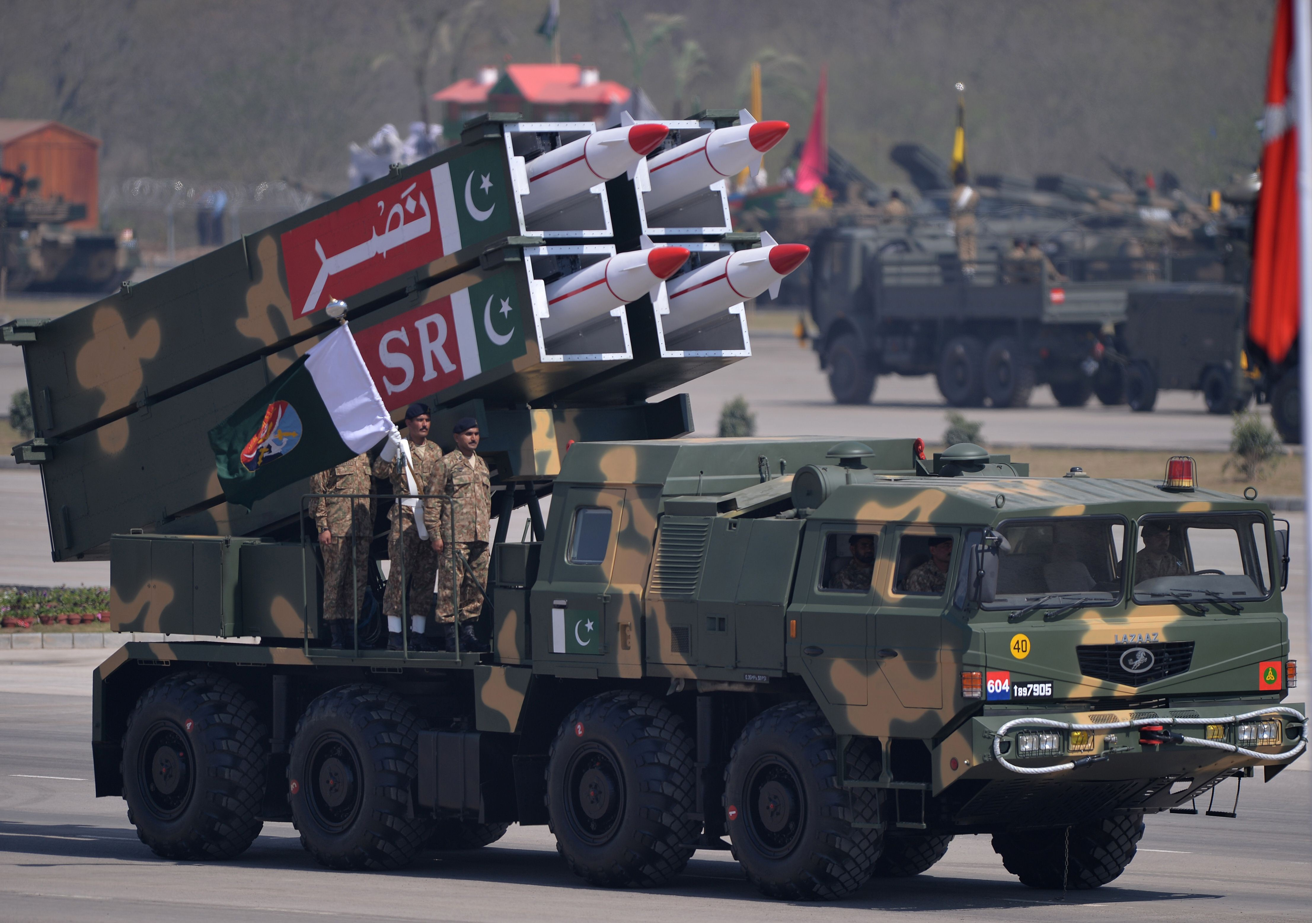 China provides tracking system for Pakistan's missile