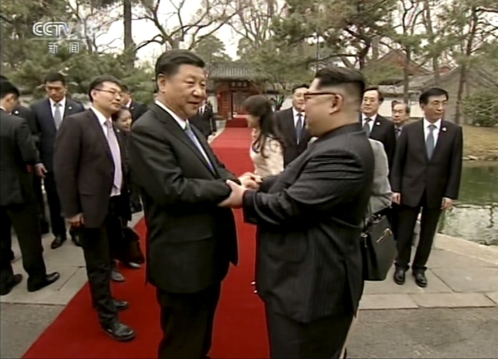 kim jongun masterminded china visit even though the