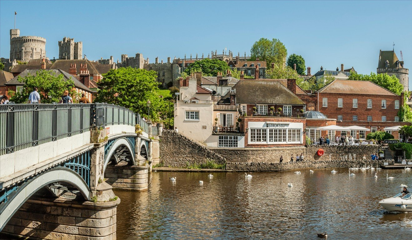 Looking across the Thames towards Windsor from its equally illustrious  neighbour, Eton. Picture: Alamy