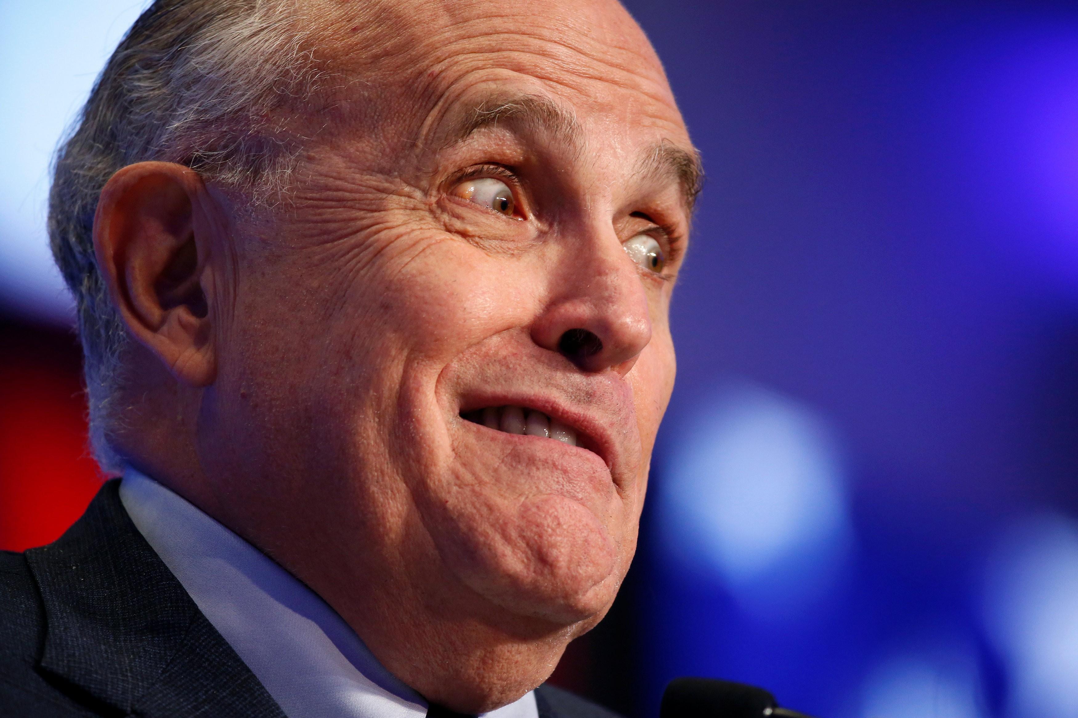 Heather Nauert Porn Motion - Donald Trump considers 'benching' Rudy Giuliani from TV ...