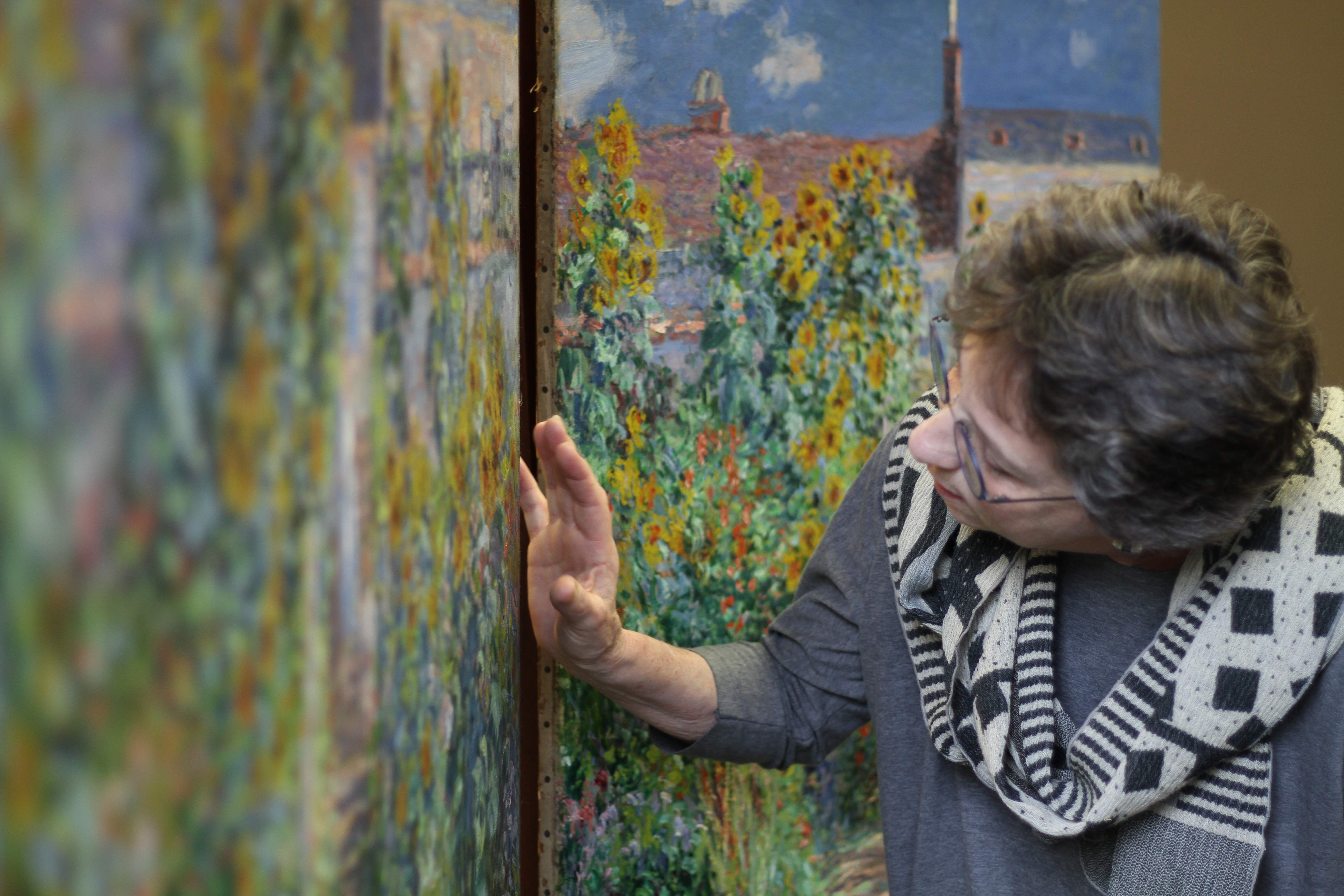 Monet's twin garden paintings are reunited for the first time