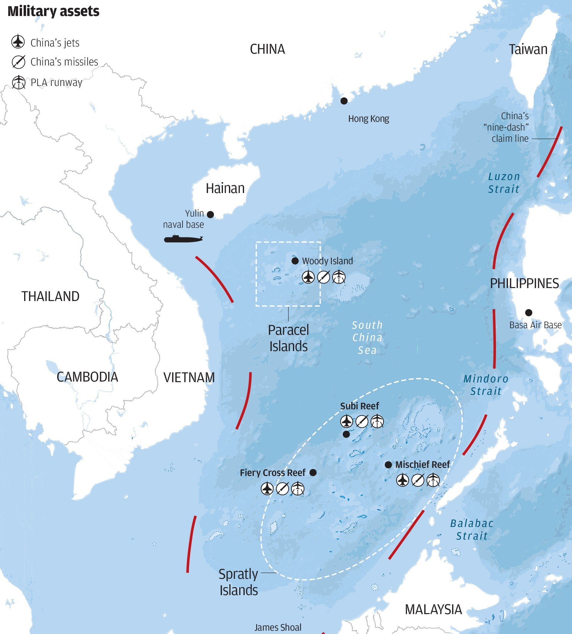 China Is Putting Troops, Weapons On South China Sea