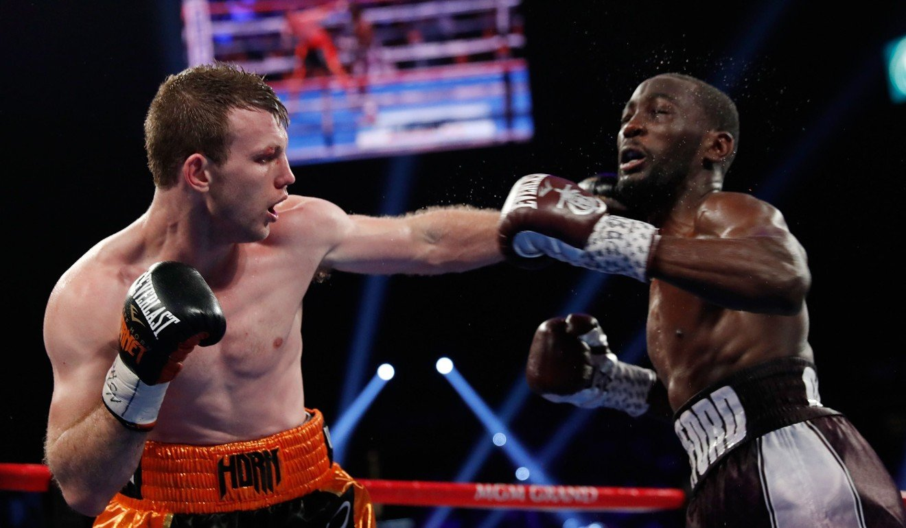 Terence Crawford Scores Tko Victory Over Outclassed Jeff Horn To Win  -> Sala De Tv Jeff