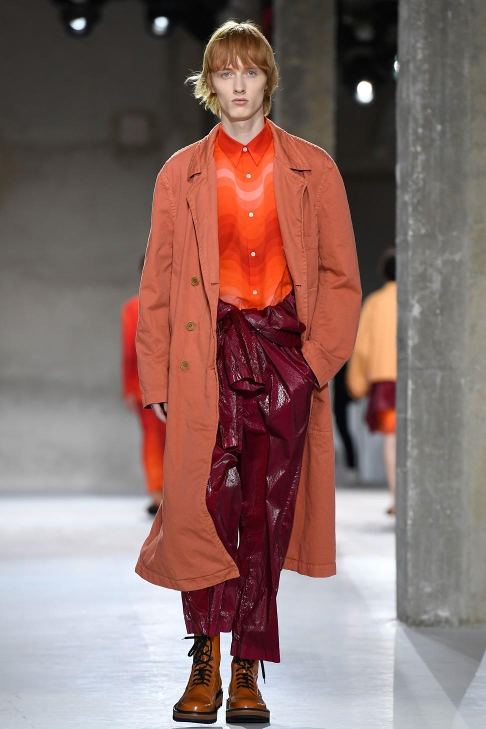 5803baf681 Paris Men s Fashion Week  bold Dries Van Noten lets his clothes do the  talking