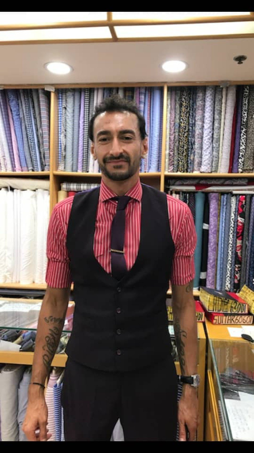 ae2d0f61c60 Fifa World Cup  Hong Kong s Sam s Tailor says Gareth Southgate s famous  waistcoat tells us he is sincere