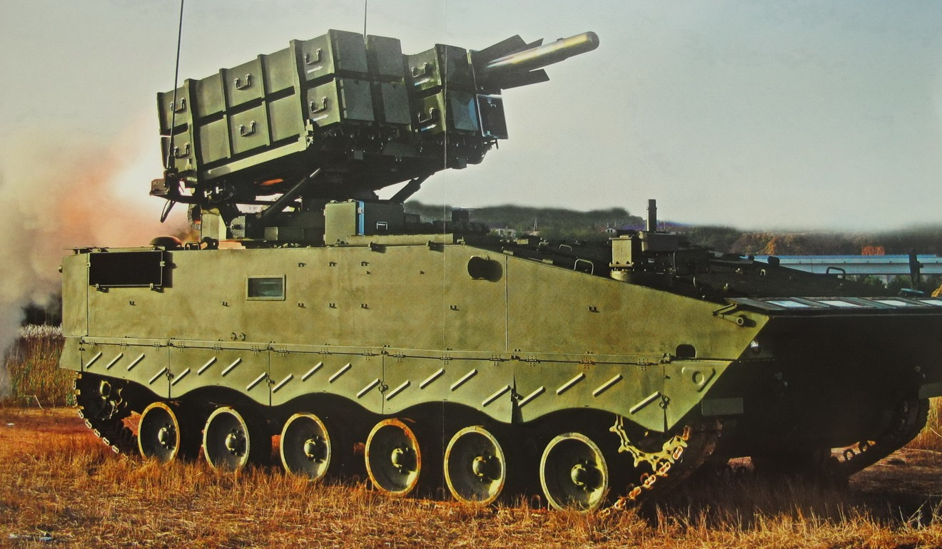 The Red Arrow is an advanced anti-tank missile system deployed by the People's Liberation Army. Photo: Handout