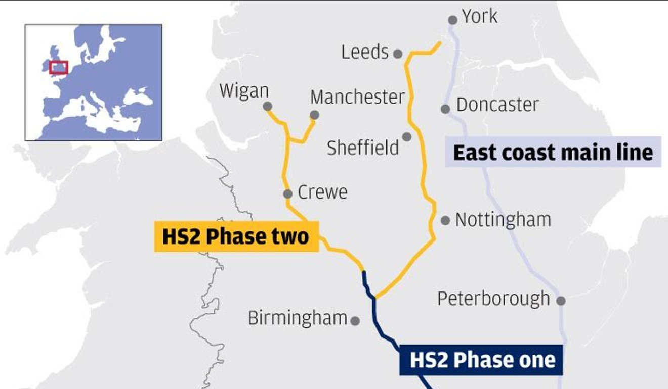 Can Chinese expertise help Britain\'s future high-speed railway rival ...