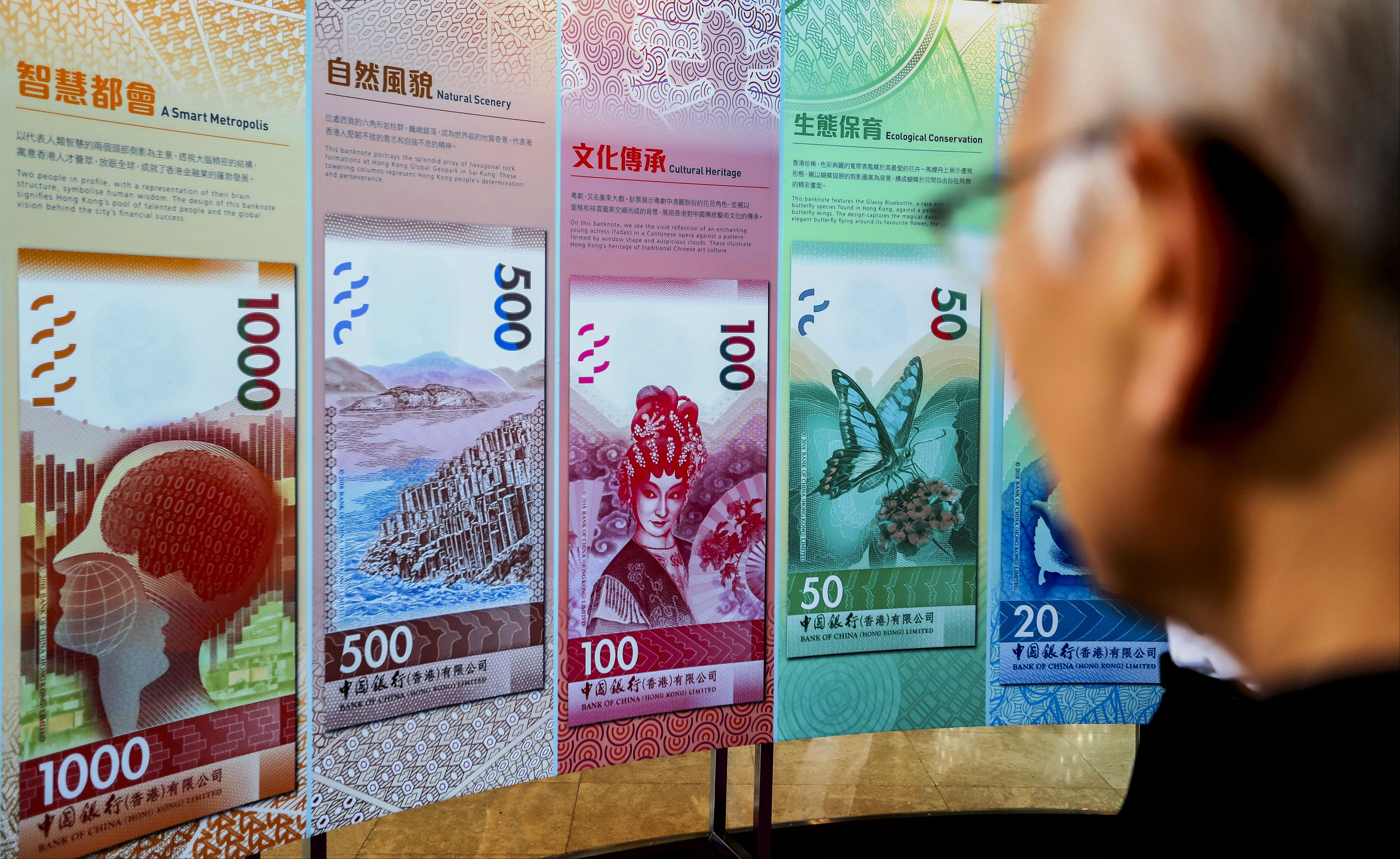 Why Hong Kong's new banknotes should feature famous faces