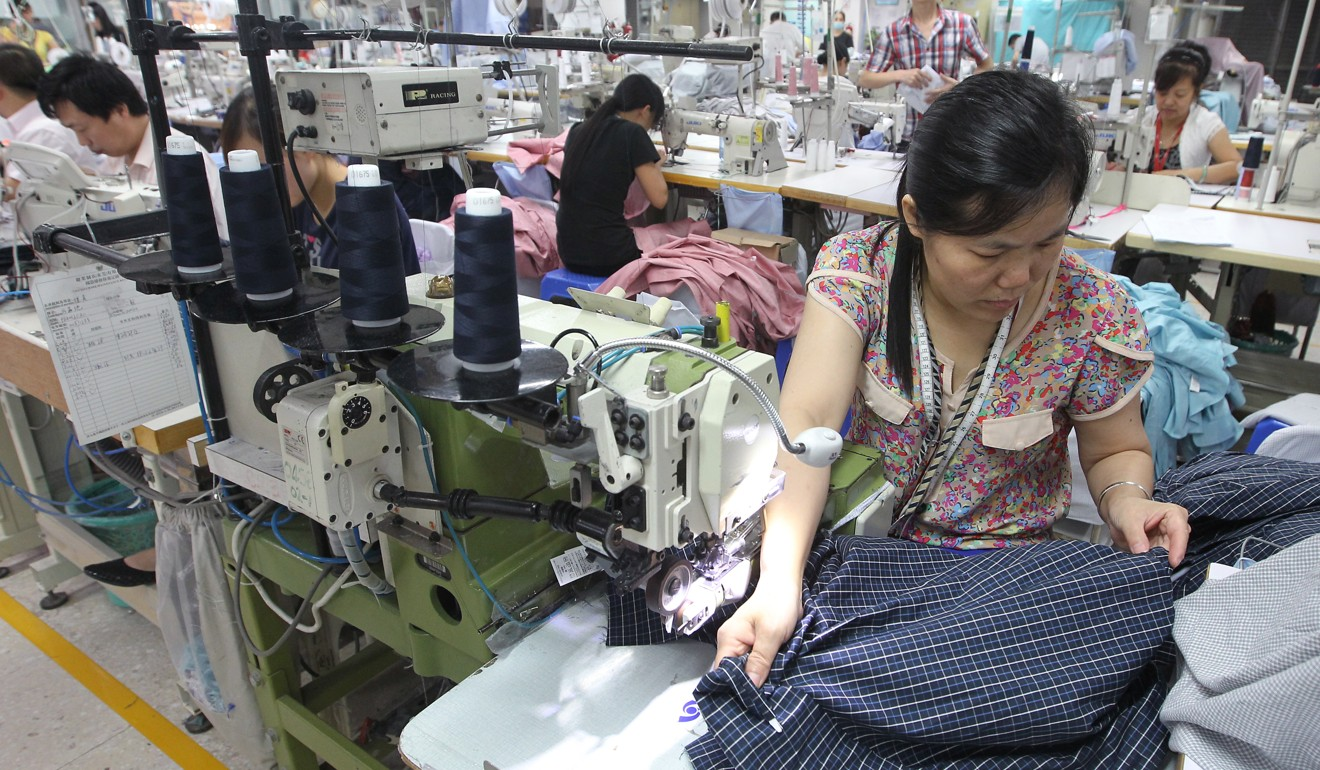 Trade war's tariffs may spur relocation of some Chinese textile