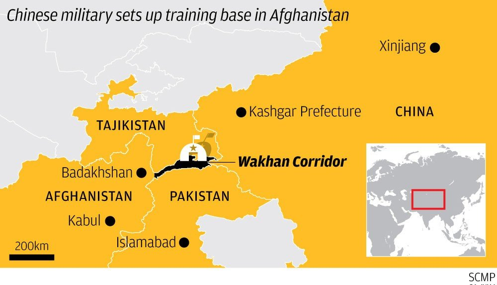 China is helping Afghanistan set up mountain brigade to fight ...