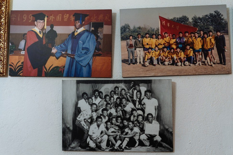 Pictures taken during Ayub Sooma's time at Beijing's Tsinghua University.