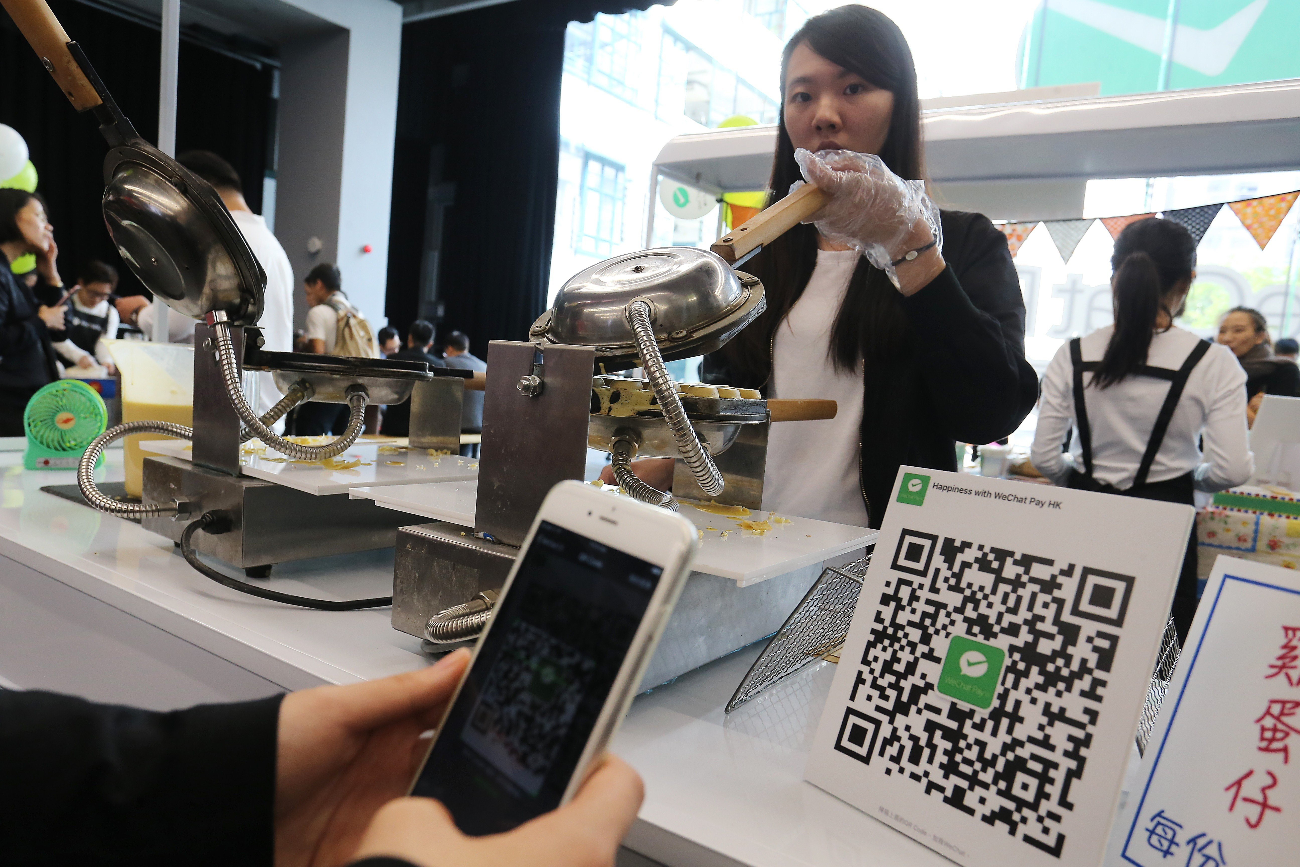Tencent's WeChat Pay to allow Hong Kong users to pay for