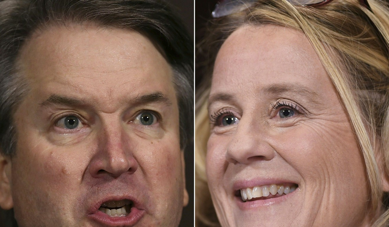 Brett Kavanaugh Accuser Julie Swetnick To Be Excluded From Fbi The Saem Woo Eyebrow Brown 01 Dr Christine Blasey Ford Accuses Supreme Court Nominee Of Sexually Assaulting Her At A Party 36 Years Ago Photo Afp